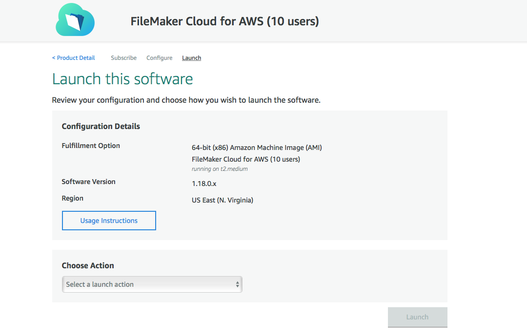 FileMaker Cloud for AWS 1 18 0 Getting Started Guide