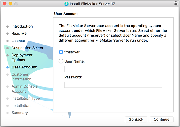 FileMaker Server 17 Installation and Configuration Guide