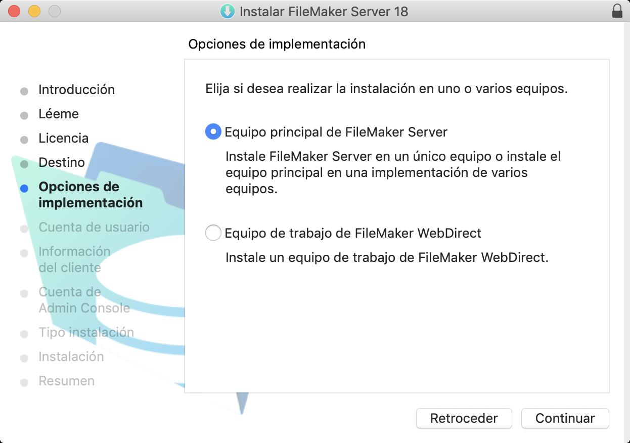Guía De Instalación Y Configuración De Filemaker Server 18